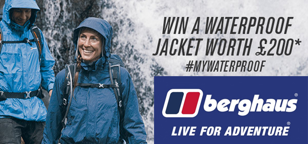 Win £200 with Berghaus